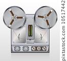 向量 向量圖 錄音機 10517442