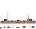 도쿄의 풍경 10539102
