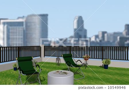 Roof top greening 10549946