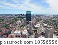 boston, skyline, aerial 10556556