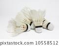 badminton,shuttlecock,used 10558512
