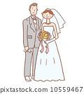 bridal, couple, bride 10559467