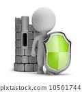 castle, small, shield 10561744