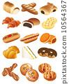矢量 麵包 肉餡餅 10564367