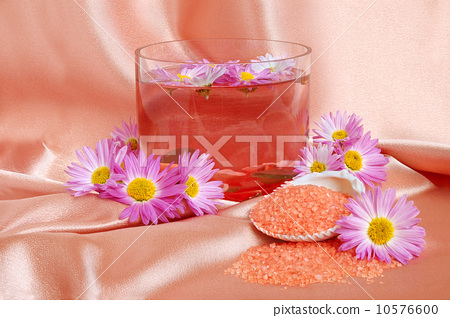 Spa and body care background 10576600