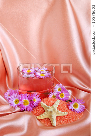 Spa and body care background 10576603
