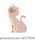 Vector  Cute Cartoon Cats 10577836