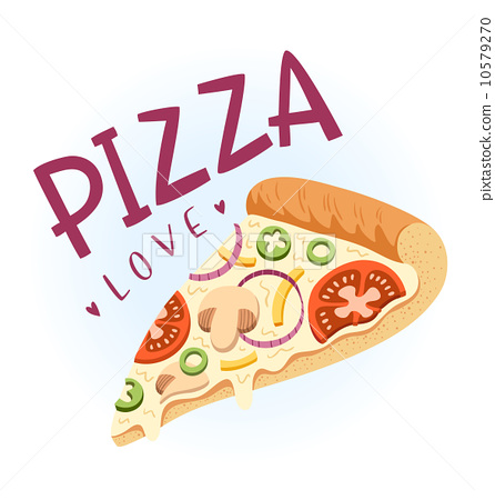 pizza love 10579270 pixta. Black Bedroom Furniture Sets. Home Design Ideas