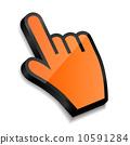 Mouse hand cursor vector illustration 10591284