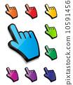 Mouse hand cursor vector illustration 10591456