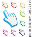 Mouse hand cursor vector illustration 10592814