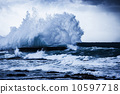 Stormy ocean waves 10597718