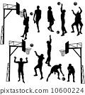 遊戲 人影 籃球 10600224