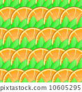 vector, ripe, orange 10605295