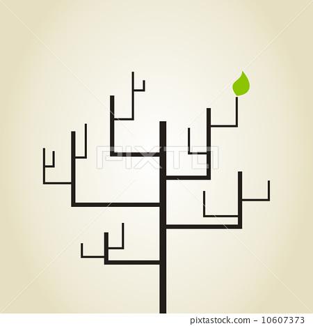 Abstract tree 10607373