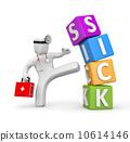 practice, kick, karate 10614146