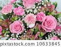 핑크 계열 꽃꽂이 10633845