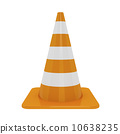 warning, cone, 3d 10638235