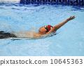 仰泳 游泳 儿童 10645363