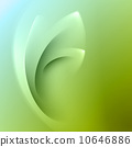 Green abstract background 10646886