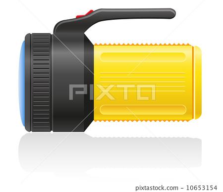 flashlight vector illustration 10653154