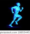 运动员 抽象 男性 10655445