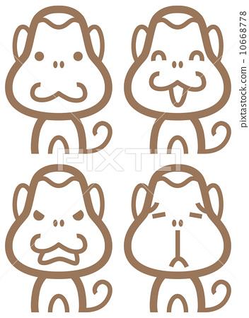 Stock Illustration: animal, baby animals, Animals And Pets