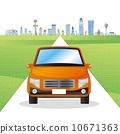 道路和汽車 10671363