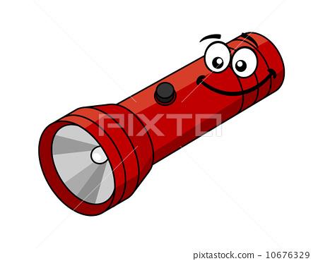 Cartoon flashlight 10676329