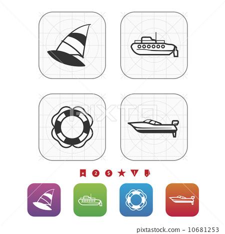 Ships and boats 10681253
