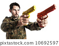 Self defense instructor with training gun 10692597