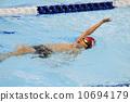 仰泳 儿童 孩子 10694179