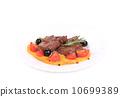 steak, fillet, cooked 10699389