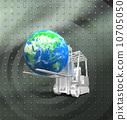 叉車 地球儀 土地 10705050