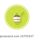 fresh, bowl, salad 10705937