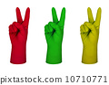 latex glove 10710771