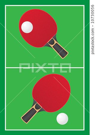 table tennis ping pong vector 10730056