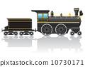หัวรถไฟ,การขนส่ง,ย้อนยุค 10730171