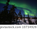 aurora, boreali, northern 10734926