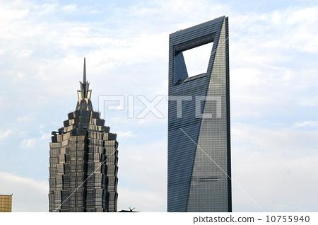 環球金融中心與金茂大廈 10755940