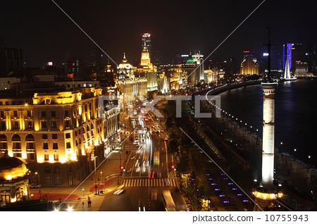 Huangpu River Night View 3 10755943
