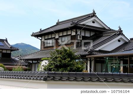 Asiatisches Haus 日本傳統建築 日式房屋 住家 圖庫照片 10756104 pixta