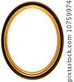 gilt, oval, antique 10759974