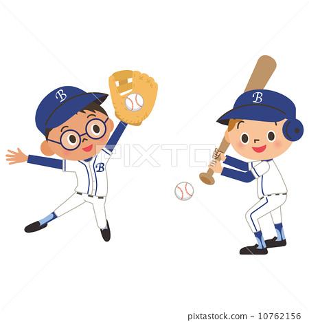 兒童和棒球 10762156