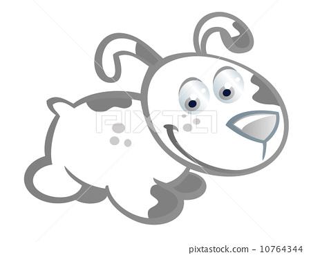 baby rabbit cartoon 10764344