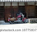 two wheeled vehicle, carriage, motorbikes 10775837
