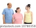 体育健身房形象(年长的女性教练) 10780358