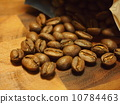 Coffee beans from the bag 10784463