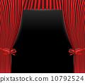 curtains, curtain, theater 10792524