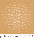 seamless pictogram background 10815219